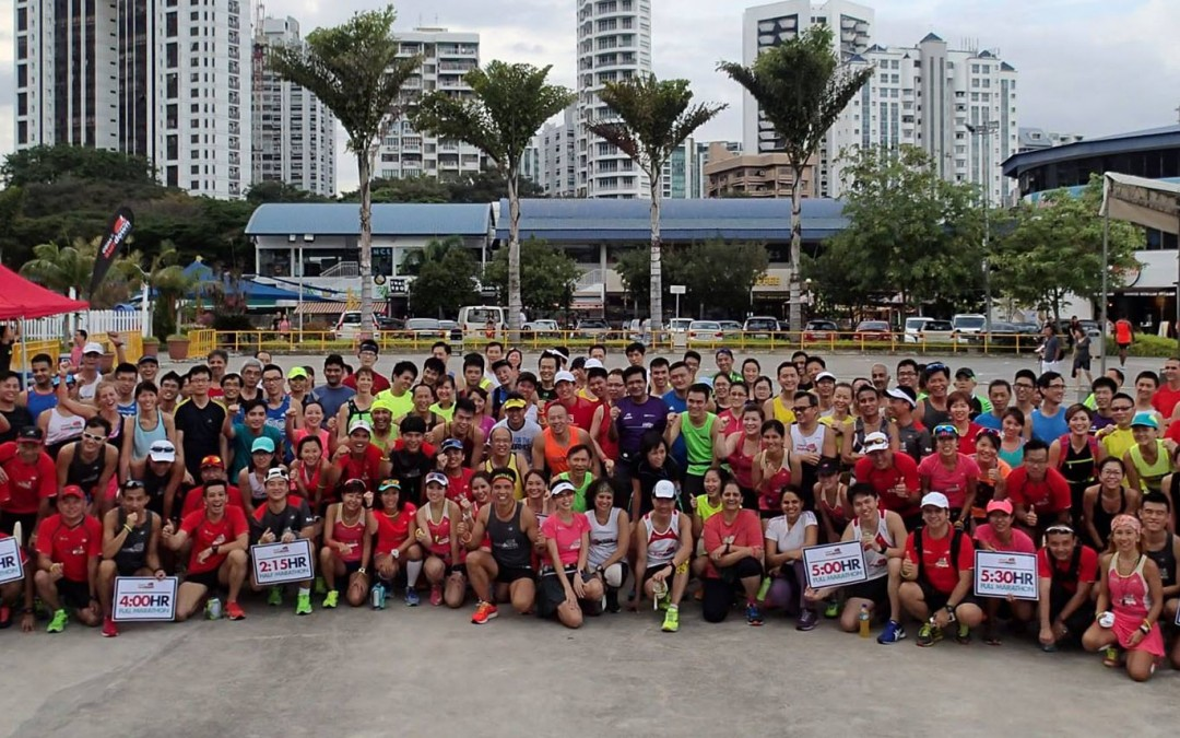 OSIM Sundown Marathon 2016 Lead Up Training Run #1