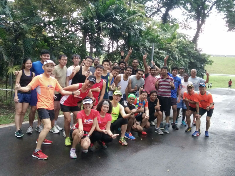 SCMS Corporate Marathon Training Kick Off