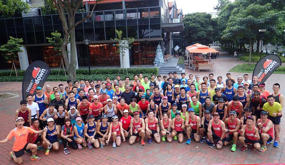 Sundown Marathon Training Kickoff