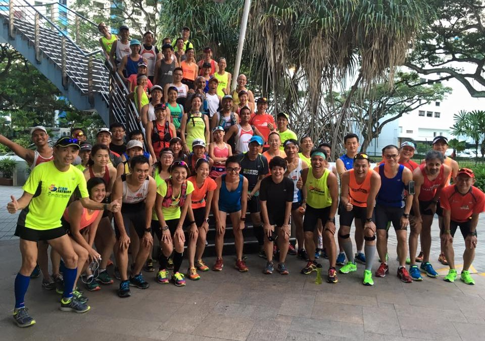 NightHawks and Falcons tackled the twin hills of Mt Faber
