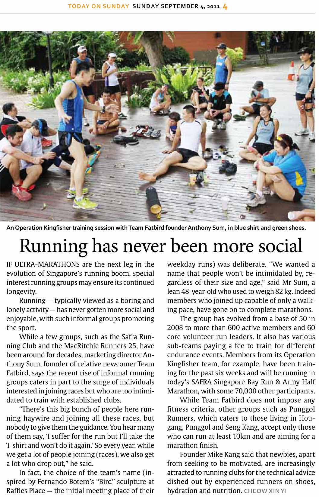 Running has never been more social