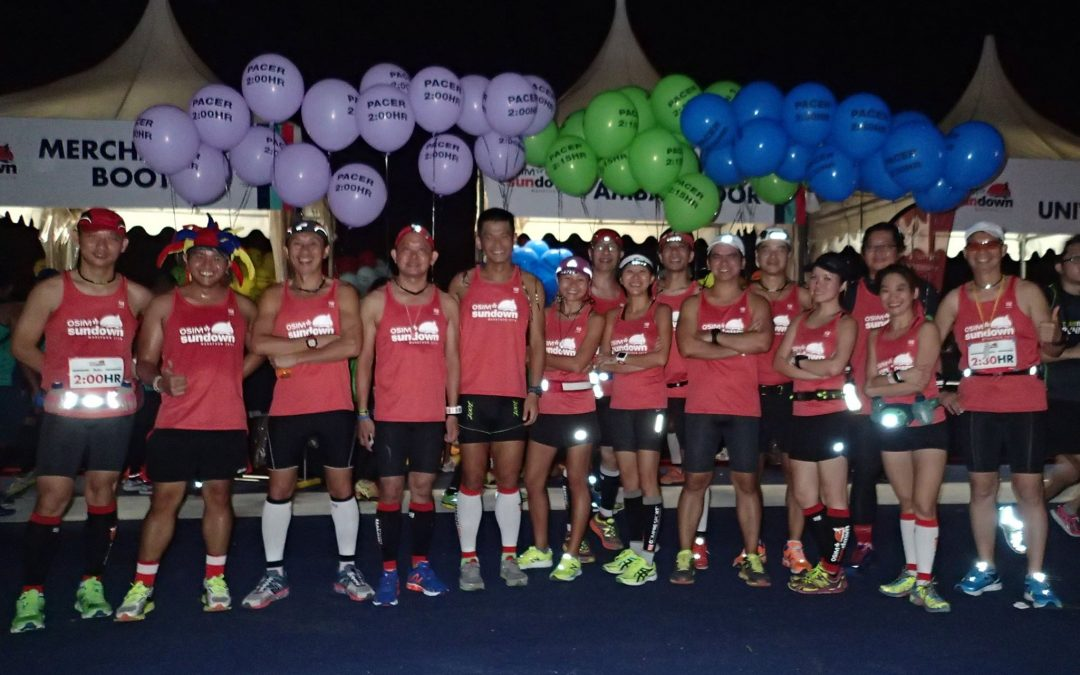 Sundown Marathon Pacers 2016: Mission Accomplished!