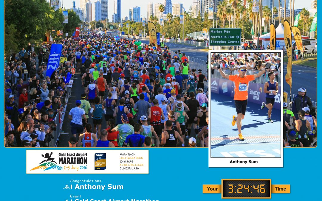 Gold Coast Airport Marathon (GCAM) 2016 Race Report