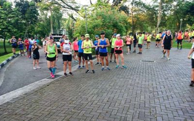 Sunbirds Flew The Hilly Trails @ Standard Chartered Singapore Marathon Training