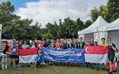 Good Times For Team Singapore @ Gold Coast Marathon 2019
